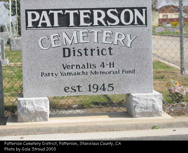 Patterson Cemetery District